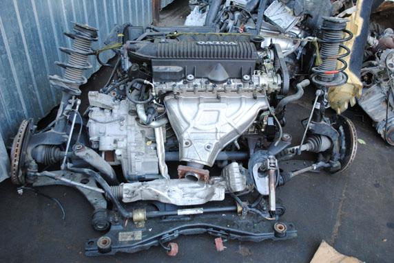 онтрактный двигатель Вольво S40