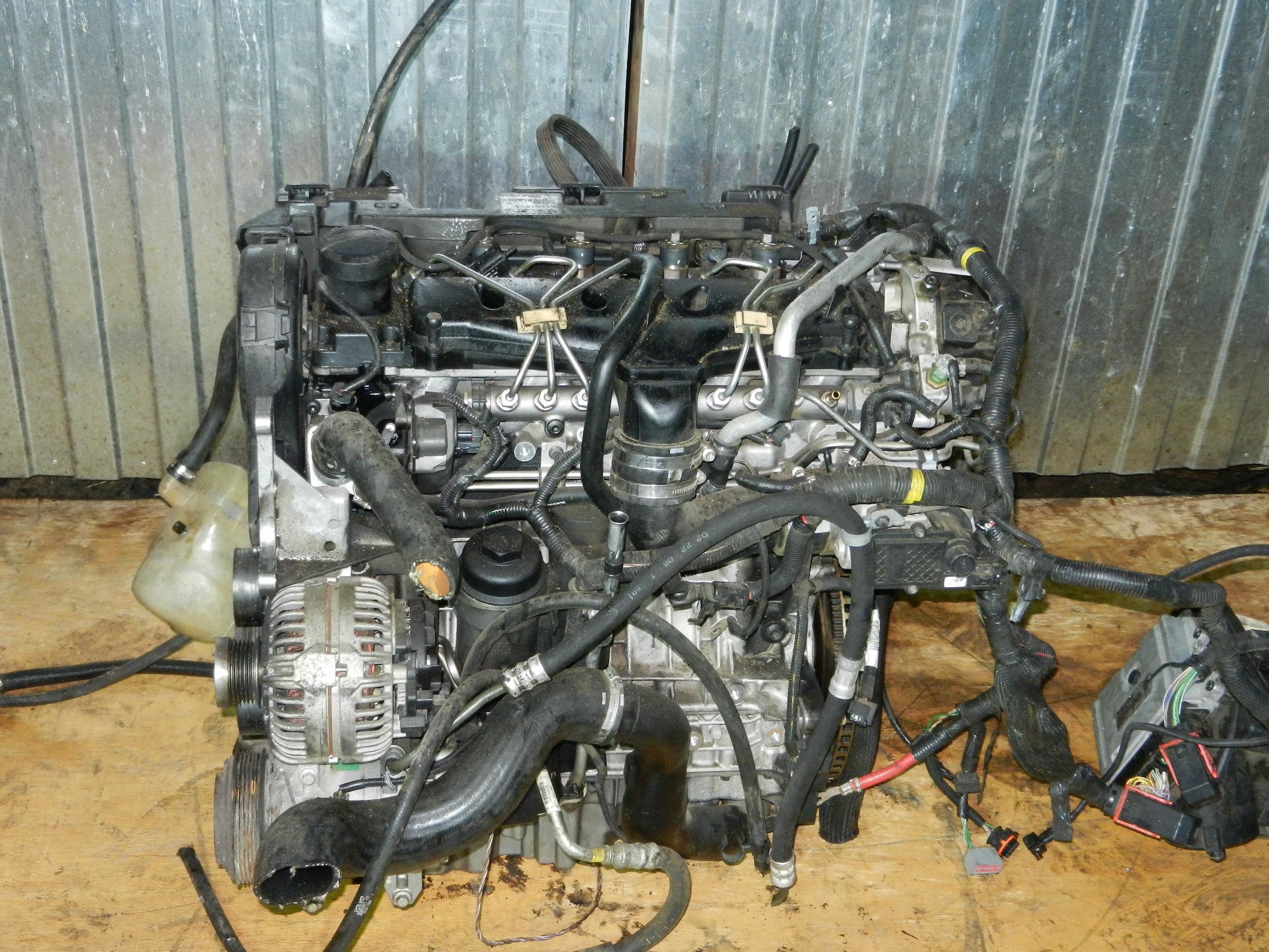 Двигатель вольво D5244T4